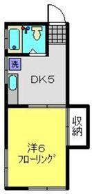 新横浜駅 徒歩22分1階Fの間取り画像