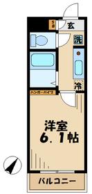 メゾン稲城3階Fの間取り画像