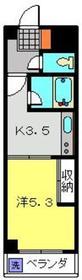 元住吉駅 徒歩1分4階Fの間取り画像