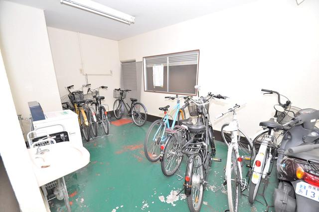 川辺287ビル あなたの大事な自転車も安心してとめることができますね。
