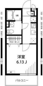 平間駅 徒歩16分3階Fの間取り画像