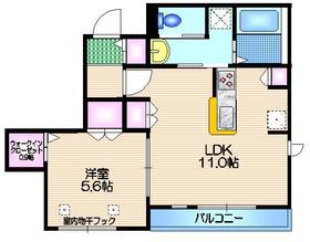 メゾン・ド・杉並堀ノ内2階Fの間取り画像
