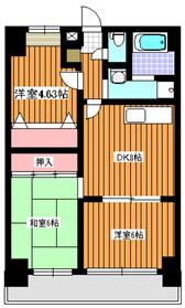 西高島平駅 徒歩23分3階Fの間取り画像