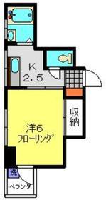 それいゆマンション3階Fの間取り画像