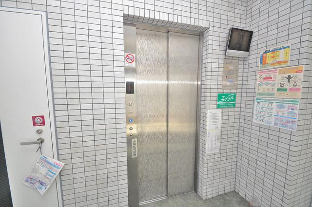 FIELD 嬉しい事にエレベーターがあります。重い荷物を持っていても安心