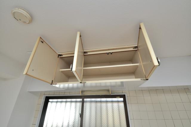 OMレジデンス八戸ノ里 コンパクトながら収納スペースもちゃんとありますよ。