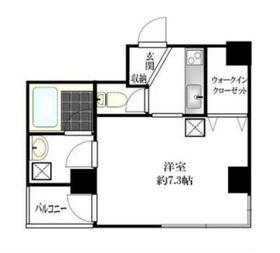グロース横浜7階Fの間取り画像
