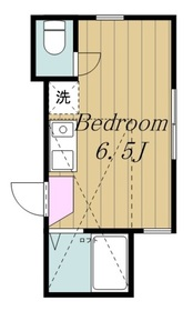 登戸駅 徒歩29分2階Fの間取り画像