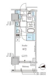 成増駅 徒歩22分13階Fの間取り画像