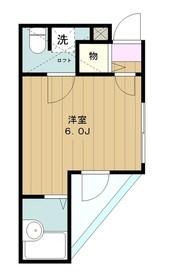 小田急相模原駅 徒歩8分2階Fの間取り画像