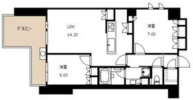 Adakust Hof(アダクストホーフ)3階Fの間取り画像