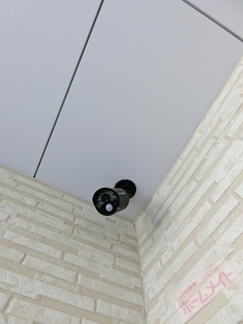 防犯カメラ完備