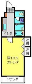 菊名駅 徒歩19分3階Fの間取り画像