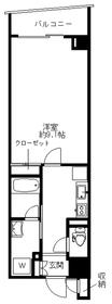 ROX参番館6階Fの間取り画像
