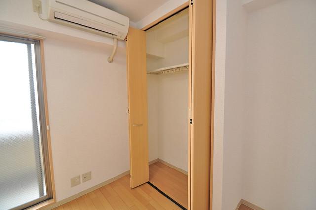 Celeb布施東 もちろん収納スペースも確保。お部屋がスッキリ片付きますね。