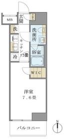Brillia ist 上野御徒町5階Fの間取り画像