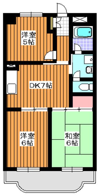 東武練馬駅 徒歩5分間取図