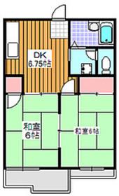 アネックスB2階Fの間取り画像